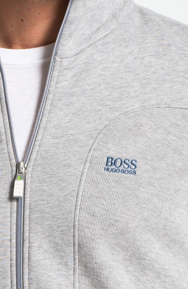 Alternate Image 3  - BOSS Green 'Skaz' Zip Sweatshirt