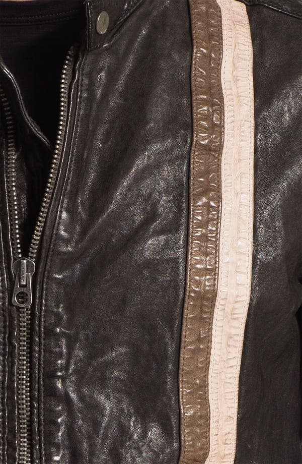 Alternate Image 3  - DIESEL® 'Lomami' Leather Moto Jacket