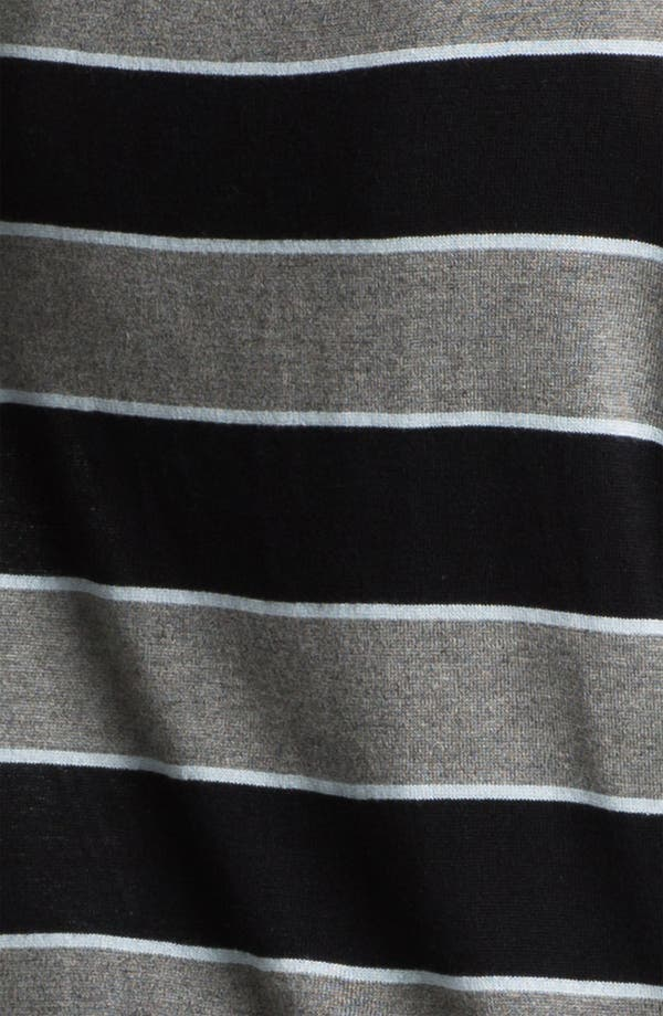 Alternate Image 3  - L'AGENCE Stripe Silk & Cashmere Cardigan