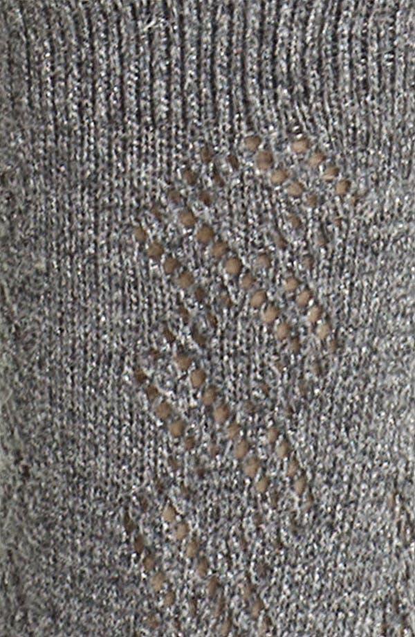 Alternate Image 2  - Ralph Lauren Openwork Diamond Crew Socks