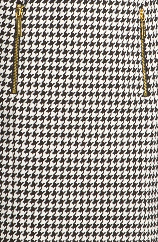 Alternate Image 3  - MICHAEL Michael Kors Leather Trim Dress (Petite)
