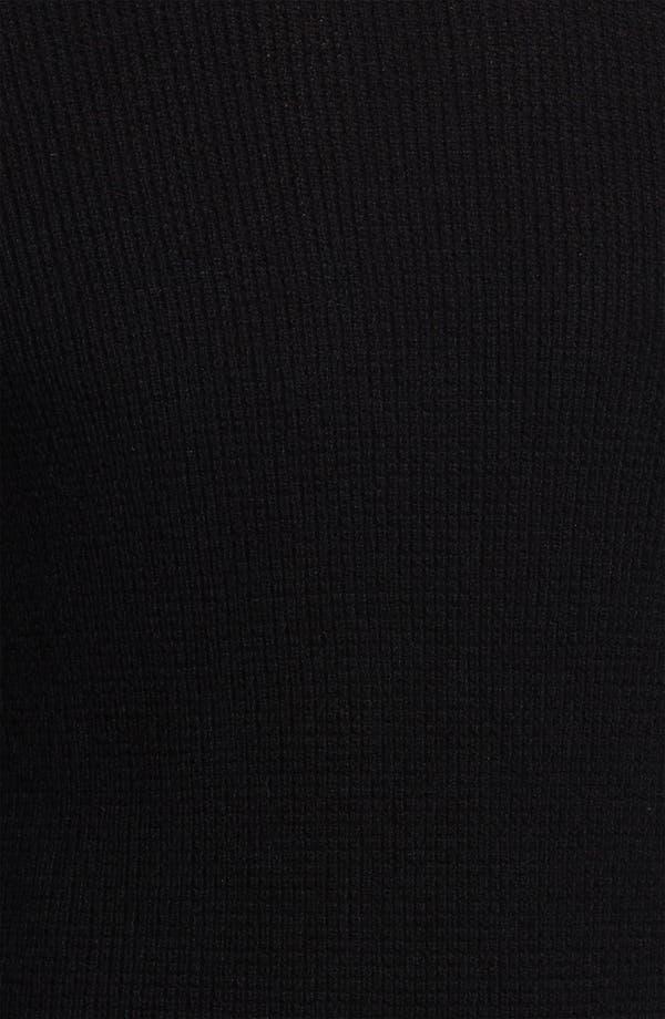 Alternate Image 3  - Theory Waffle Knit Cashmere Crewneck Sweater
