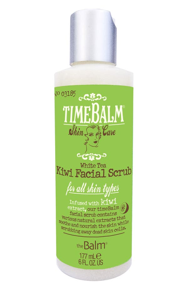 Main Image - theBalm® 'TimeBalm®' Kiwi Facial Scrub