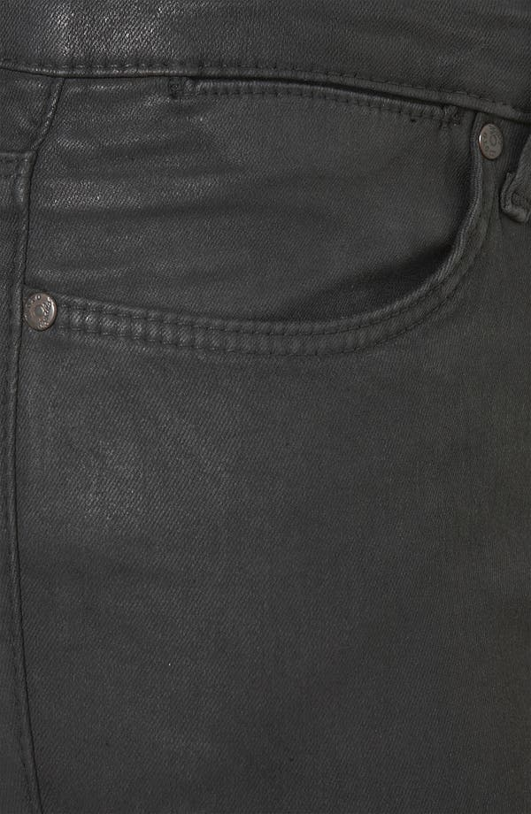 Alternate Image 3  - Topshop Moto 'Leigh' Skinny Jeans (Black)