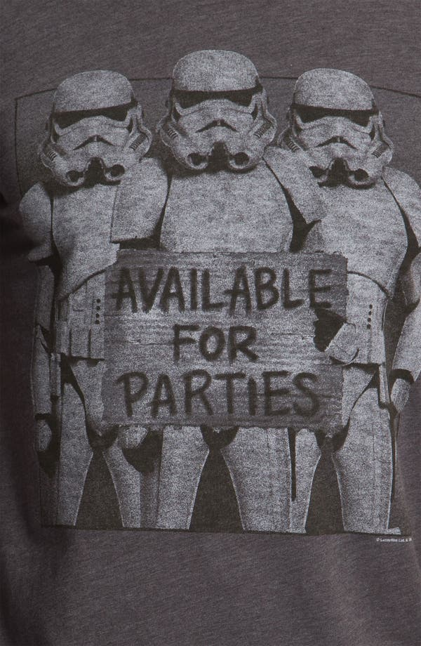 Alternate Image 3  - Junk Food 'Available for Parties' T-Shirt