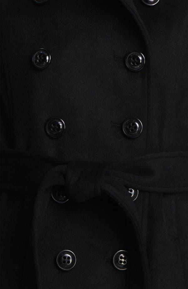 Alternate Image 3  - DKNY Double Breasted Maxi Coat