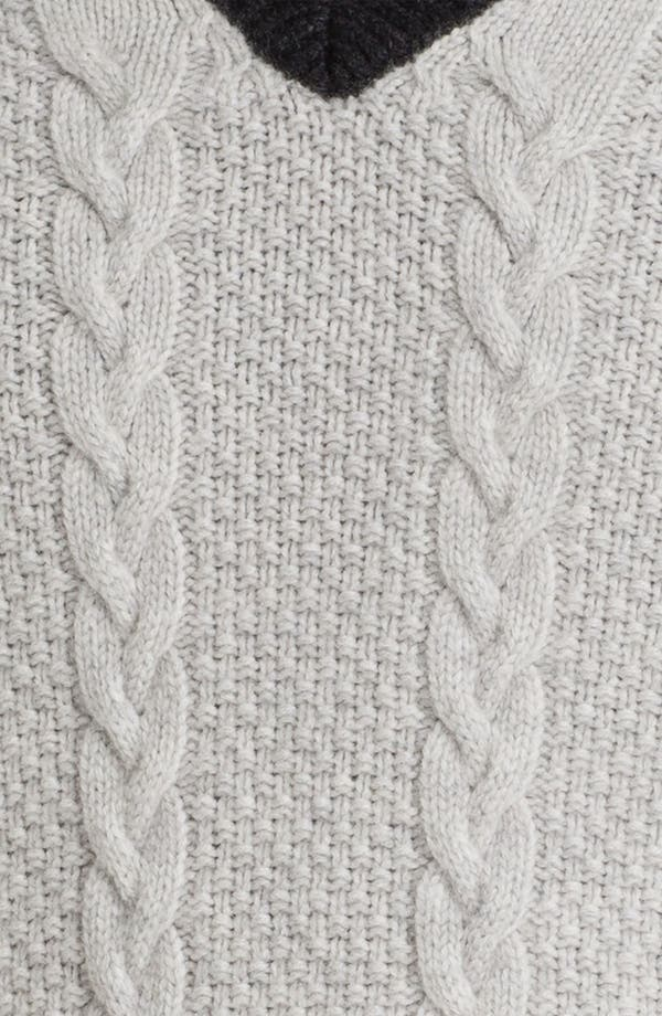 Alternate Image 3  - Fausto Reali Vannucci Cable Knit Wool & Cashmere Sweater