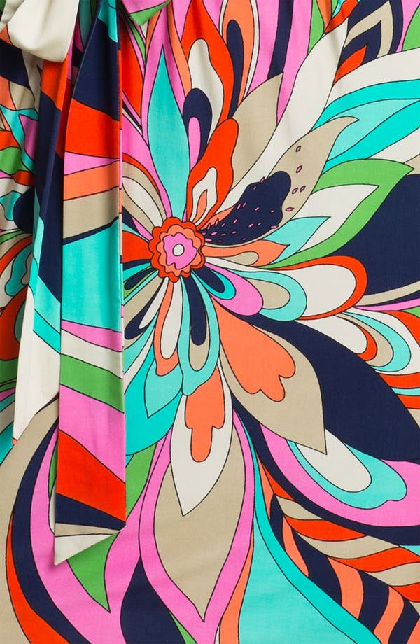 Alternate Image 3  - Trina Turk 'Berenice' Print Split Sleeve Jersey Dress