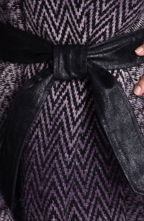 Alternate Image 3  - Beatrix Ost Herringbone Sweater Coat