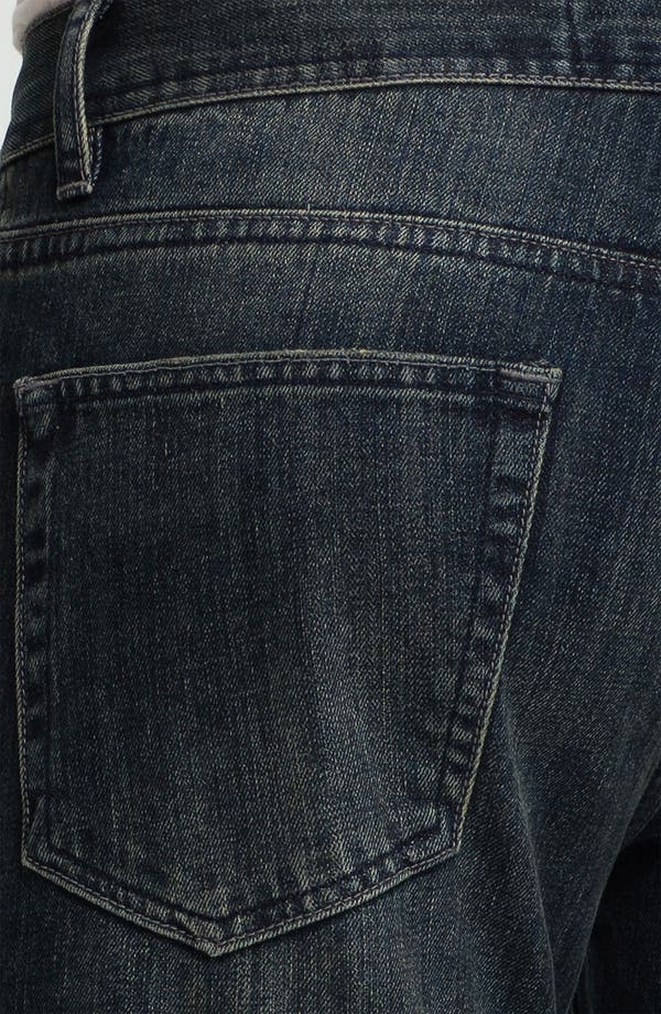 Alternate Image 3  - Topman Skinny Fit Jeans (Dark Blue)
