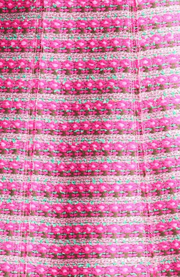 Alternate Image 3  - MARC JACOBS Belted Tweed Stripe Dress
