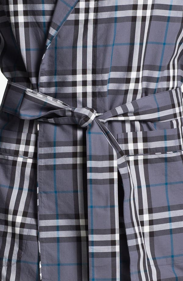 Alternate Image 3  - Burberry Check Robe