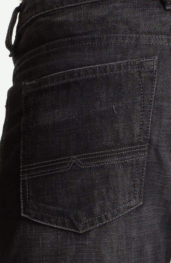 Alternate Image 4  - Buffalo Jeans 'Driven' Straight Leg Jeans (Dark/Washed)