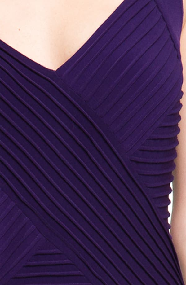 Alternate Image 3  - Calvin Klein Ribbed Panel Jersey Sheath Dress