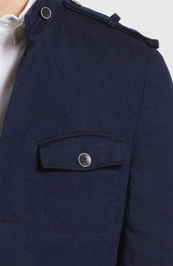 Alternate Image 3  - BOSS Black 'Harlow' Linen Blend Field Jacket (Online Exclusive)