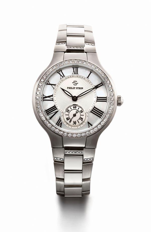 Alternate Image 2  - Philip Stein® 18mm Diamond Watch Bracelet