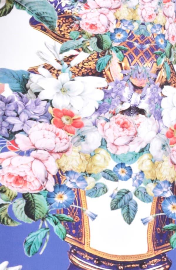 Alternate Image 3  - Roberto Cavalli Flower Print Square Neck Dress