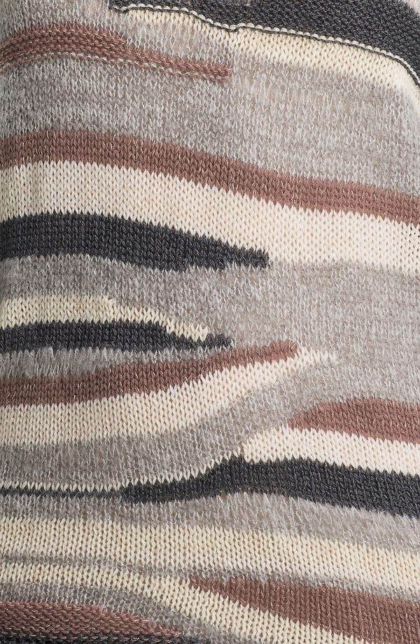 Alternate Image 3  - Hinge® Multicolor Stripe Sweater