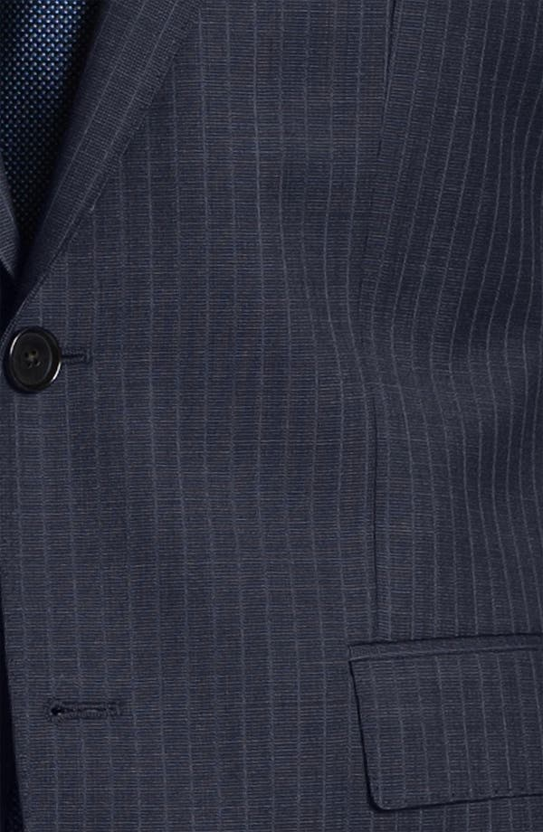 Alternate Image 6  - BOSS Black 'James/Sharp' Trim Fit Stripe Suit