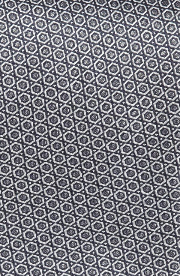 Alternate Image 2  - Yves Saint Laurent Hexagon Pattern Woven Silk Tie