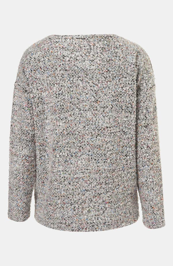 Alternate Image 2  - Topshop Bouclé Sweater
