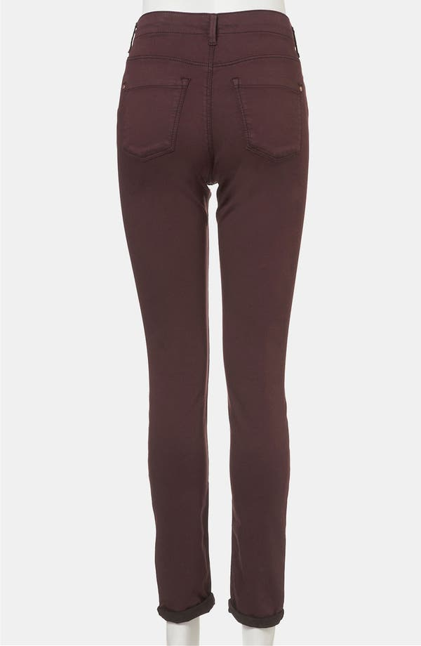 Alternate Image 4  - Topshop 'Leigh' Skinny Maternity Jeans