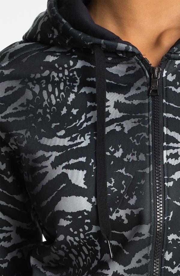 Alternate Image 3  - Under Armour 'Armour Fleece®' Graphic Zip Up Hoodie