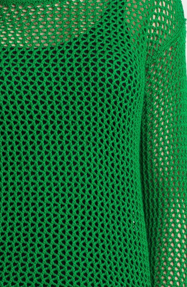 Alternate Image 3  - MICHAEL Michael Kors Mesh Tunic Sweater