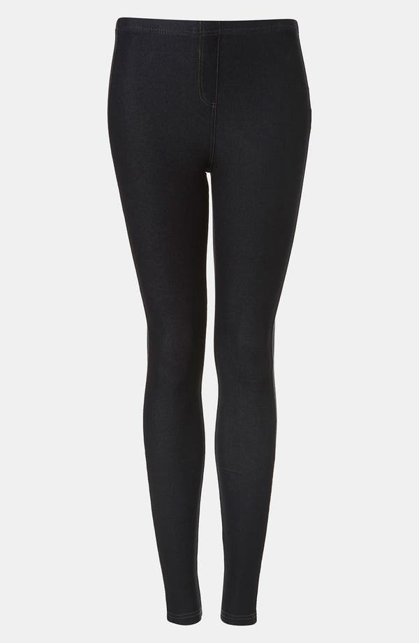 Alternate Image 1 Selected - Topshop Denim Leggings