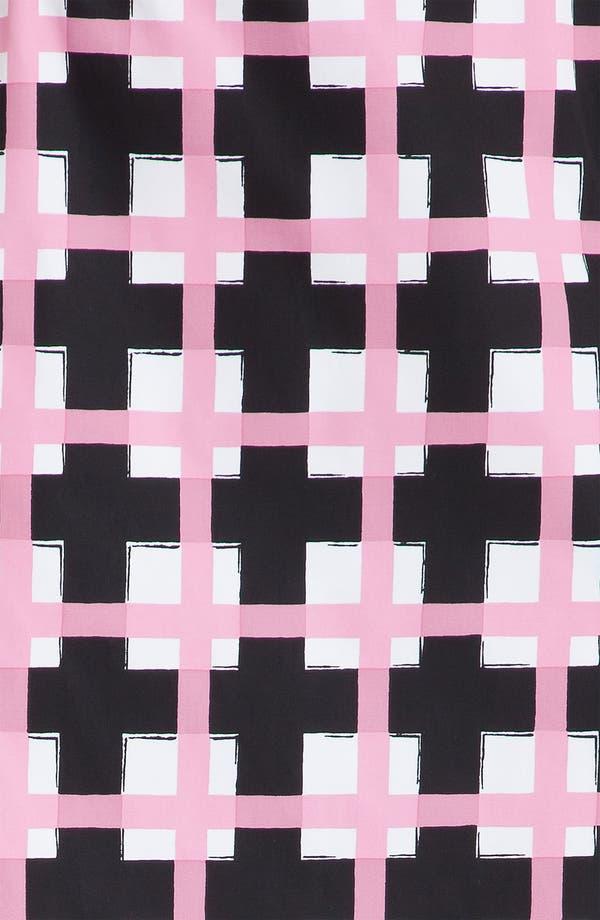 Alternate Image 5  - Marni Grid Print Taffeta Pencil Skirt