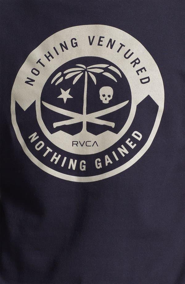 Alternate Image 3  - RVCA 'Korps' Graphic Crewneck Sweatshirt