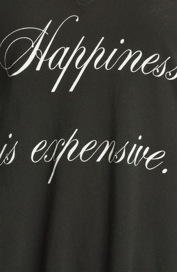 Alternate Image 3  - Wildfox 'Happiness Is Expensive' Graphic Tee