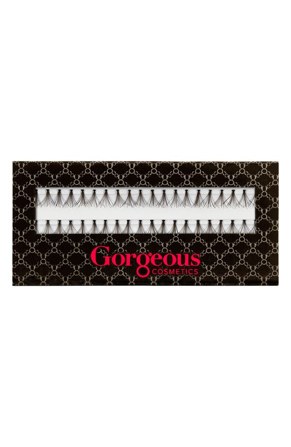 Alternate Image 1 Selected - Gorgeous Cosmetics 'Dual Flair' Faux Lashes