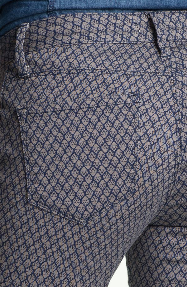 Alternate Image 3  - Mavi Jeans 'Alexa' Geometric Print Skinny Jeans (Online Exclusive)