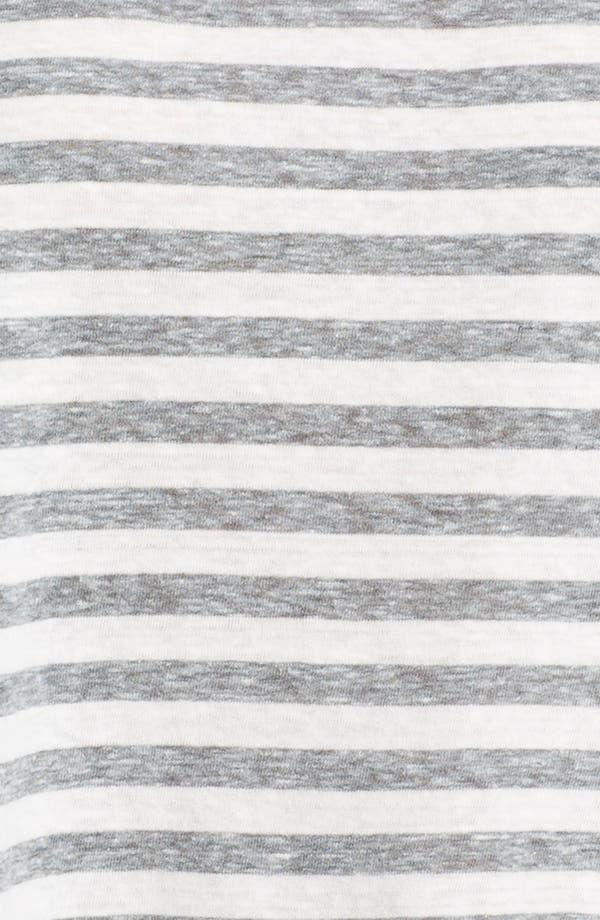 Alternate Image 3  - Eileen Fisher Mélange Slub Stripe Top