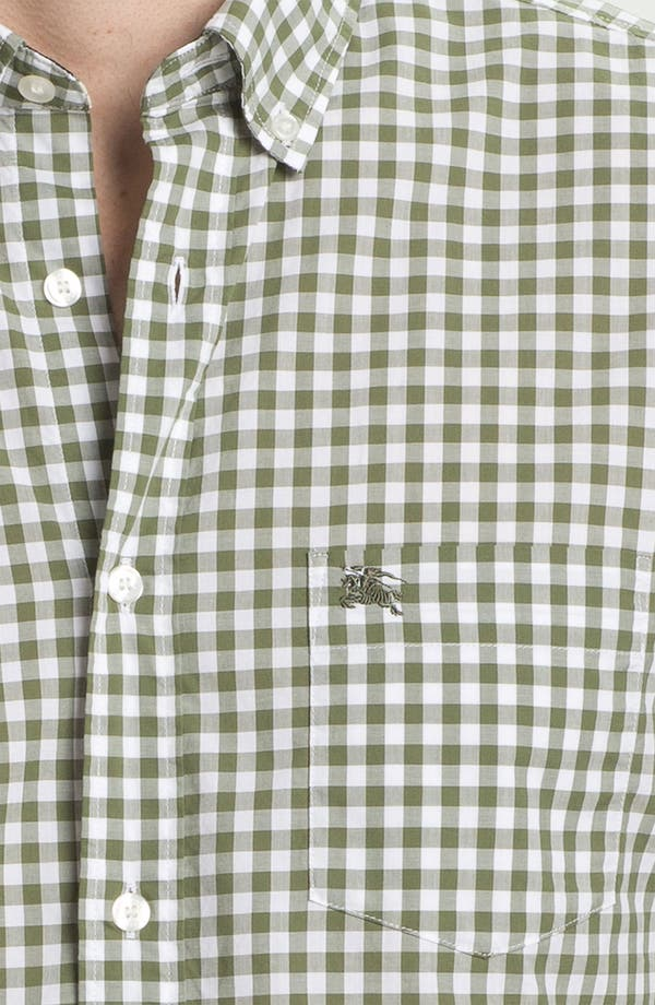 Alternate Image 3  - Burberry Brit Gingham Check Sport Shirt