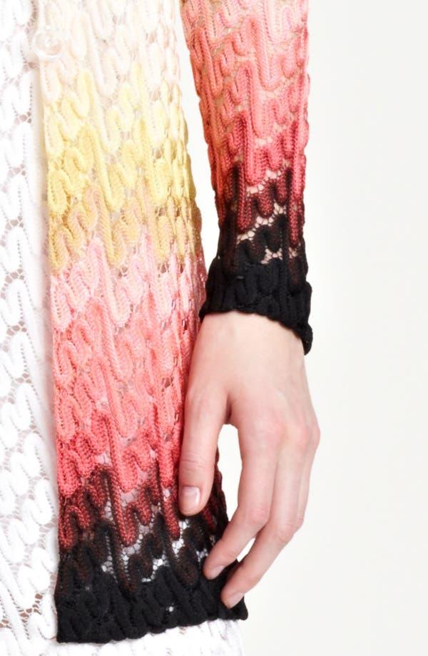 Alternate Image 3  - Missoni Dégradé Lace Stitch Cardigan