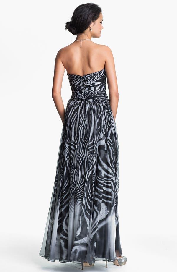 Alternate Image 2  - La Femme Gown & Accessories