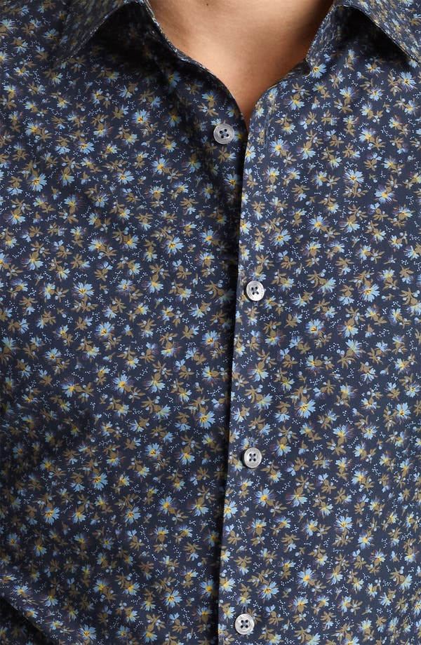 Alternate Image 3  - Paul Smith London Floral Print Shirt