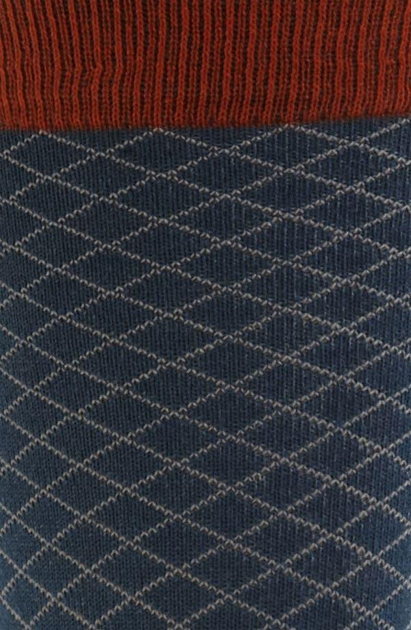 Alternate Image 2  - hook + ALBERT Grid Socks