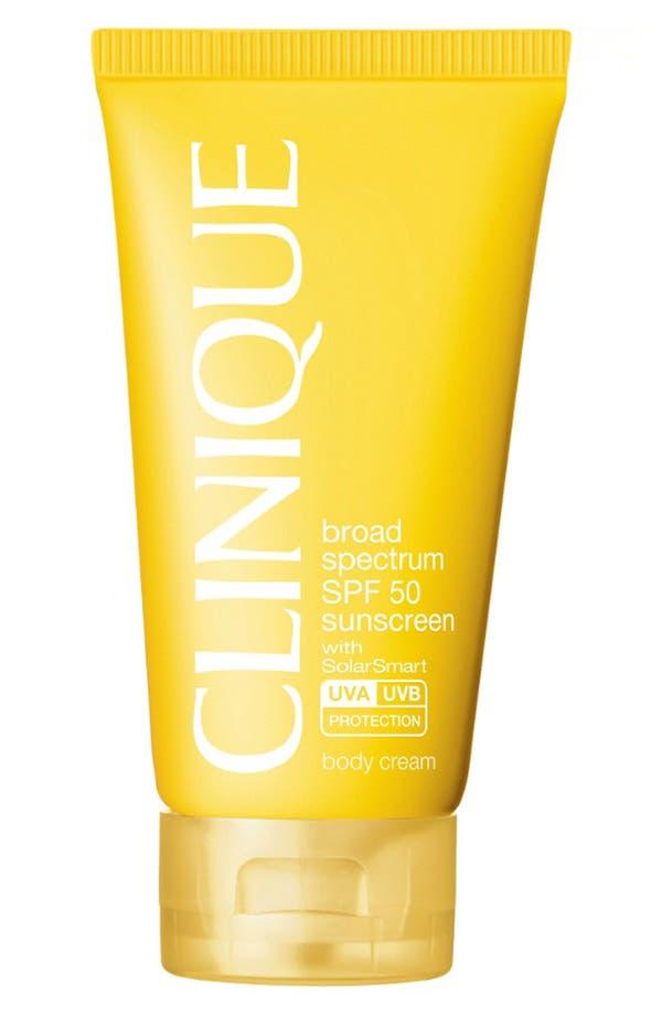 Alternate Image 1 Selected - Clinique 'Sun' Broad Spectrum SPF 50 Body Cream
