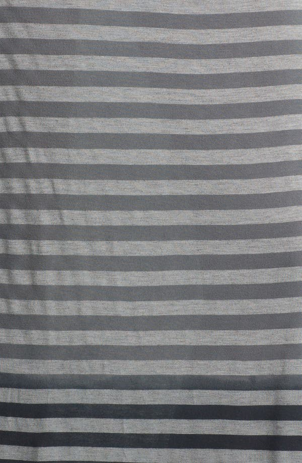 Alternate Image 3  - Allen Allen Ombré Stripe Maxi Skirt