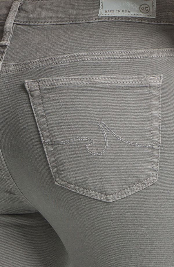 Alternate Image 3  - AG Denim Leggings (Grey)