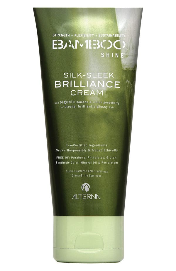 Alternate Image 1 Selected - ALTERNA® Bamboo Shine Silk-Sleek Brilliance Cream