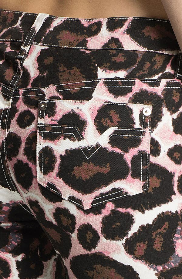 Alternate Image 3  - Rebecca Minkoff Animal Print Skinny Pants