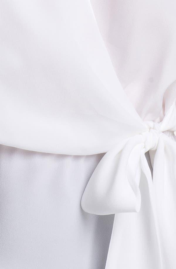 Alternate Image 3  - MICHAEL Michael Kors Sleeveless Crossover Blouse