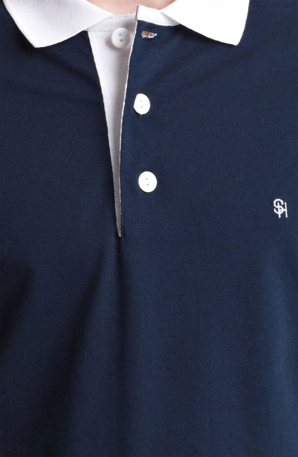 Alternate Image 3  - Shipley & Halmos Piqué Polo
