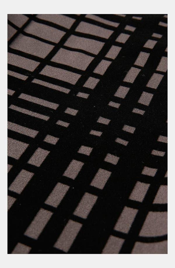 Alternate Image 3  - Topshop Plaid Velvet Leggings