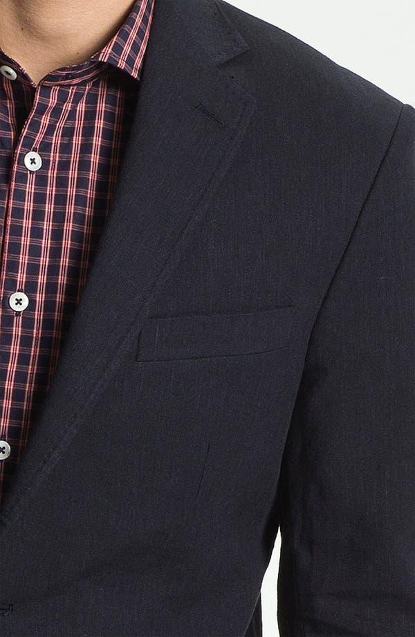 Alternate Image 3  - Billy Reid 'Lexington' Cotton & Linen Blazer