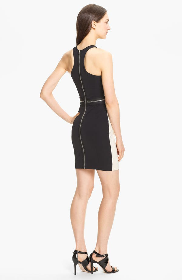 Alternate Image 2  - Milly Cutaway Stretch Sheath Dress